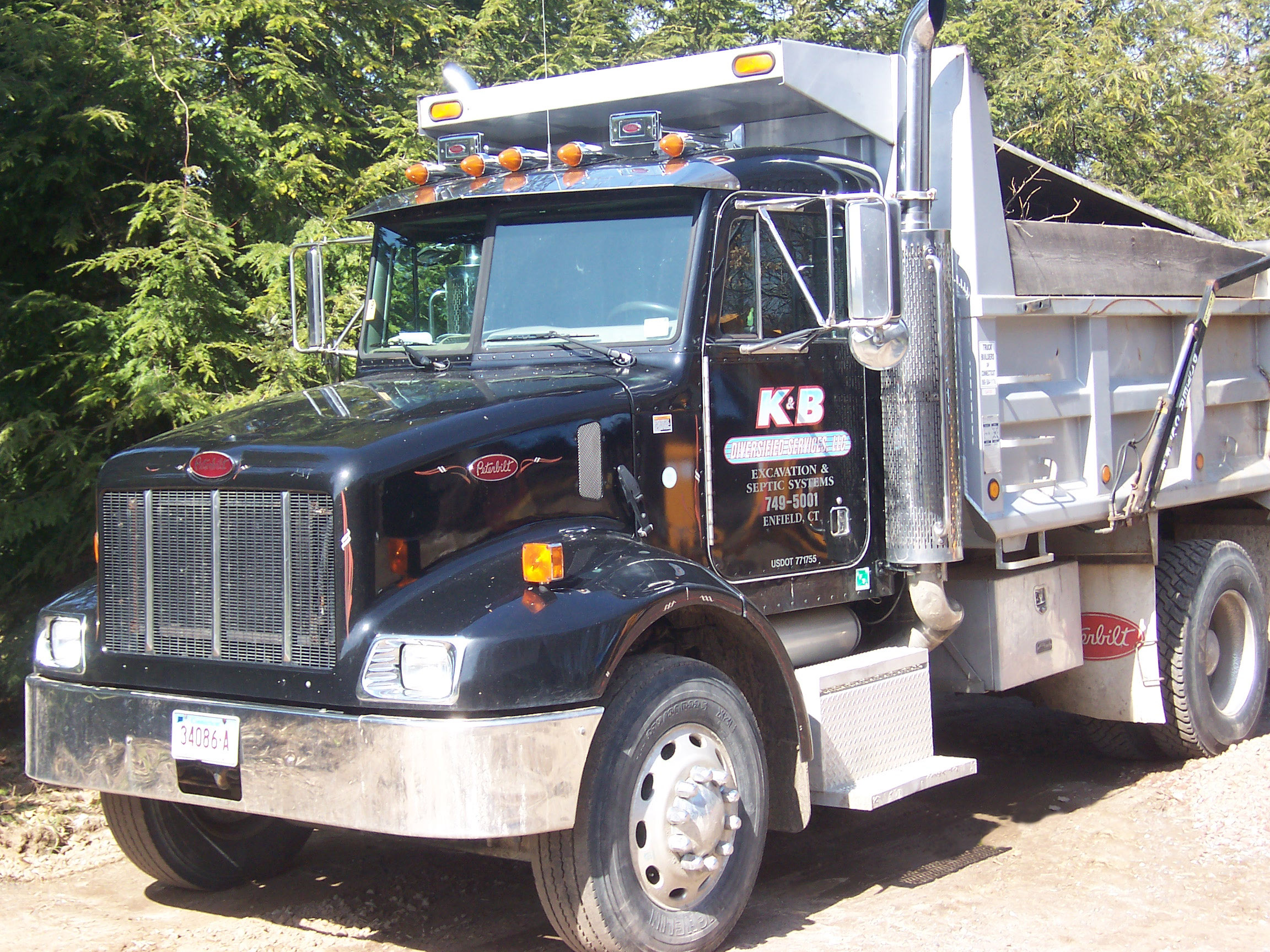 K b diversified services excavation septic enfield ct 860 749 5001